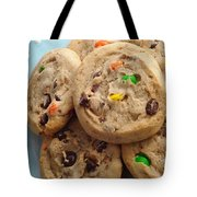 M And M - Chocolate Chip - Cookies - Bakery Shop Tote Bag