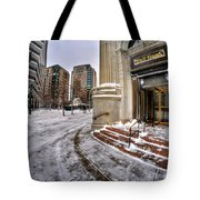 M And T Bank Downtown Buffalo Ny 2014 Tote Bag