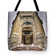 M And T Bank Downtown Buffalo Ny 2014 V2 Tote Bag