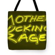M F R Yellow Tote Bag