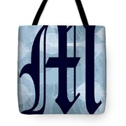 M Is For Me Tote Bag