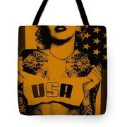 M M U S A In Orange Tote Bag