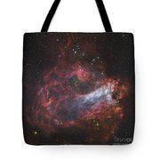 M17, The Omega Nebula In Sagittarius Tote Bag