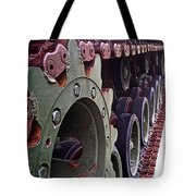 M60 Patton Tank Tread Tote Bag