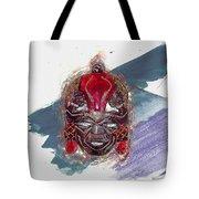 Maasai Mask - The Rain God Ngai Tote Bag