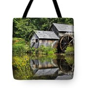 Mabry Mill In Virginia Tote Bag