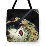 Macaroni And Ingredients Tote Bag