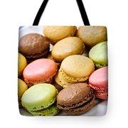 Macaroon Cookies Tote Bag by Elena Elisseeva