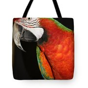 Macaw Profile Tote Bag