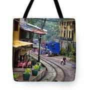 Macchu Picchu Town - Peru Tote Bag