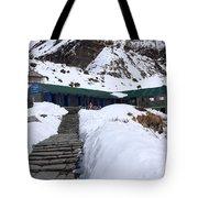 Machhapuchchhre Base Camp, Nepal  Tote Bag