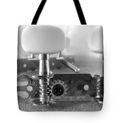 Machine Head In Black And White Tote Bag