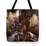Machinist - A Room Full Of Memories  Tote Bag