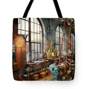 Machinist - Back In The Days Of Yesterday Tote Bag by Mike Savad