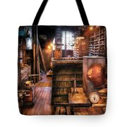 Machinist - Ed's Stock Room Tote Bag
