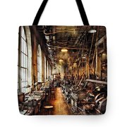 Machinist - Machine Shop Circa 1900's Tote Bag