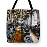 Machinist - Precision Matters Tote Bag by Paul Ward