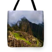 Machu Picchu Overlook Tote Bag