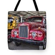 Mack Truck V2 Tote Bag