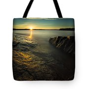 Mackenzie Point September Sunrize Tote Bag