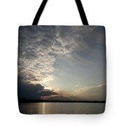 Mackerel Sky Tote Bag