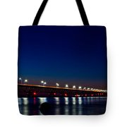 Mackinac Bridge Just After Sunset Tote Bag