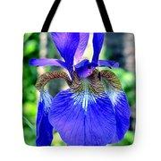 Macro Iris Tote Bag