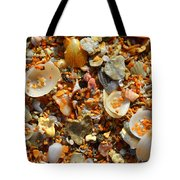 Macro Shells On Sand3 Tote Bag