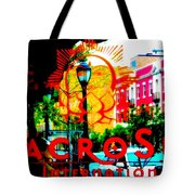 Macro Sun International Tote Bag