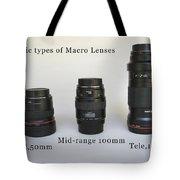 Macro Test Tote Bag