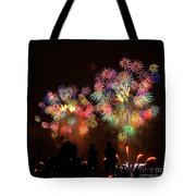 Macy's July 4th Fireworks New York City  Tote Bag