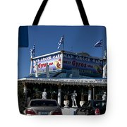 Mad Greek Cafe Tote Bag