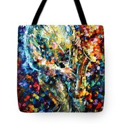 Mad Jazz Tote Bag
