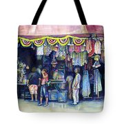 Mad Man Of Market And Main Singapore Tote Bag