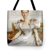 Madam The Countess Of Cambaceres Tote Bag