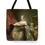 Madame De Pompadour At Her Tambour Frame Tote Bag