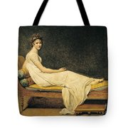 Madame Recamier Tote Bag
