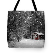 Made In Maine Winter  Tote Bag