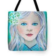 Madelyn Little Angel Of Clear Vision Tote Bag