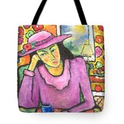 Mademoiselle Espame Tote Bag by Chaline Ouellet