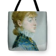 Mademoiselle Lucie Delabigne Tote Bag