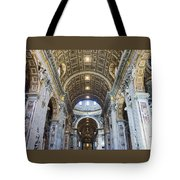 Maderno's Nave Ceiling Tote Bag