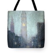 Madison Avenue At Twilight Tote Bag