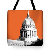 Madison Capital Building - Coral Tote Bag