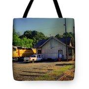 Madison Georgia Historic Train Station Tote Bag