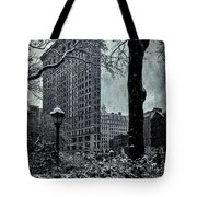 Madison Square And The Flatiron Building Tote Bag
