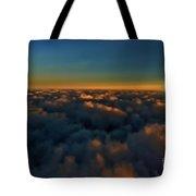 Madison Wi Sunset At 30000 Tote Bag
