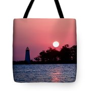 Madisonville Lighthouse Tote Bag