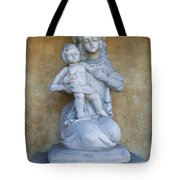 Madonna And Child Carmel Mission Monterey California Tote Bag