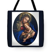 Madonna And Child Tote Bag by Jane Whiting Chrzanoska